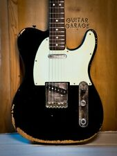 1977 Fender USA Telecaster Black Road Worn Rosewood neck guitar with hardcase