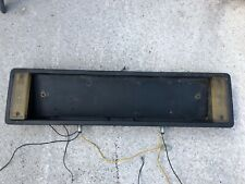 Lancia Delta HF Turbo Numberplate Backing Plate With Rear Lights- No Reserve