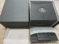 Raymond Weil nabucco Deluxe Watch & Chrono Gift/Display Box Unisex Pillow & Book
