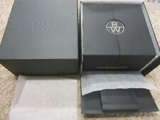 Raymond Weil nabucco Deluxe Watch & Chrono Gift/Display Box Unisex Pillow & Book