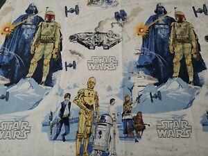 Pottery Barn Kids STAR WARS 4 Piece TWIN Bed Sheet Set Boba Fett Darth Vader