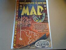 MAD #10 (becomes Mad Magazine) Original Golden Age EC Comics 1954 Fair
