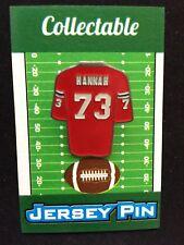 New England Patriots John Hannah lapel pin-Classic Collectable-Fan Favorite