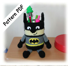 PATRÓN AMIGURUMI de Batman en español, tutorial de crochet, manual ... | 219x225