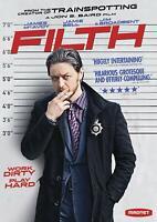 DVD - Action - Filth - James McAvoy - Jim Broadbent - Jamie Bell - John S. Baird