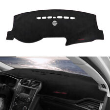 Black Dashboard Cover Dash Mat Anti-Sun Protector Pad For 2013-2018 Ford Fusion