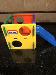 Little tikes dollhouse size activity gym climbing cube