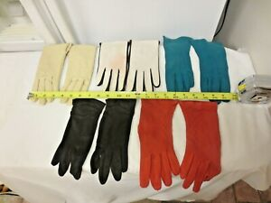 """5 Pr Various Older Women's Gloves-All Different-Sizes 6 to 7 1/2"""""""