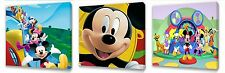 Mickey Mouse set of Three Wall / Plaques canvas pictures