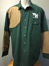 Vtg Filson Trap Shooting Shirt Cotton Canvas Mens XXL 2XL Hunting Outdoor LS Tin