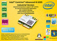 Intel 6205 62205ANHMWEB Industrial Temperature 802.11ABG/N mini pci express