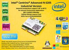 Intel 6205 62205ANHMWEB Industrial Temperature 802.11ABG/N mini pci express