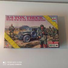 1/72 ESCI 8609 3/4 TON. TRUCK WITH II U.S PARATROOPERS (1988)