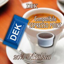 DECAFFEINATO - 100 CAPSULE Cialde Caffè compatibili Lavazza Espresso Point