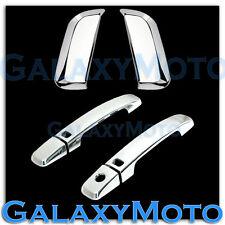 Chrome Trim Bezel 4 Door Handle+Smart Keyhole Cover for 05-12 Nissan PATHFINDER