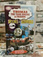 Thomas and Friends - Spooks and Surprises VHS Video Tape Cassette Vintage TBLO