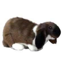 Dark 25cm Hansa German Lop Ear Rabbit