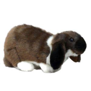 German Bunny Rabbit Hansa Realistic Soft Animal Plush Toy 25cm **FREE DELIVERY**