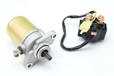 Starter and Solenoid for Can-Am 16 17 2016 2017 DS 70 90 Mini X  V31200DGF020LL