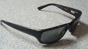 Maui Jim Stingray Black Wrap Designer Sunglasses Rare Made in Italy Version