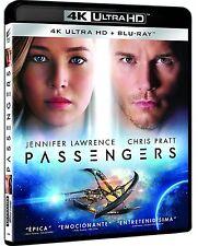 PASSENGERS 4K ULTRA HD + BLU RAY NUEVO ( SIN ABRIR ) J. LAWRENCE Y CHRIS PRATT