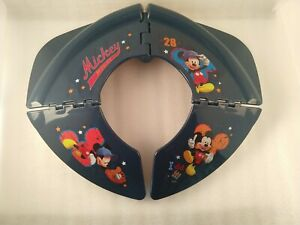 Disney Mickey Mouse All Star Blue Travel Vacations Folding Potty Training Seat
