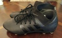 Pre-owned blackout Adidas Nemeziz 18.3 Men's FG Soccer Cleats Shoes Size 7.5