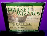 Market Wizards by Jack Schwager Audio CD Abridged B381