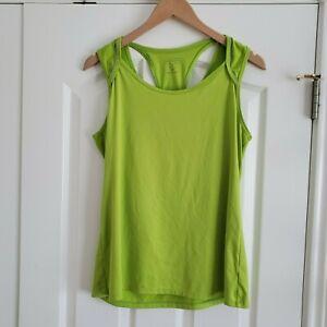 Athleta Tank Top Womens Medium M Green Workout Yoga