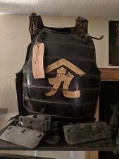 Samurai Chest Armor Edo Period, Japanese, 1720 to 1820 Original