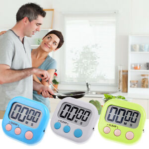 Ampio display LCD Digital Kitchen Egg Timer da cucina Conte di Down Clock A K9T6