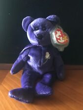 Princess Diana Beanie Baby with PE Pellets with Number stamp from 1997 (Retired)