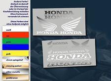 HONDA MOTORRAD AUFKLEBER STICKER SET 14 TEILIG BIKER TUNING DECAL