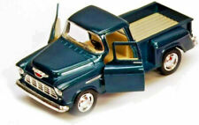 Kinsmart 1955 Chevy Stepside 3100 Pick up truck 1:32 scale model Green