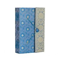 Sari Fabric Journal Notebook Diary 6 Colour 13.5 x 21.5cm Unlined Recycled Paper