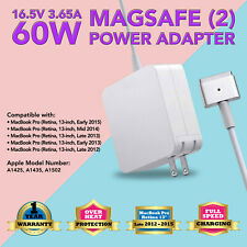 "60W Power charger Adapter for Apple MacBook pro 13"" (Cmptbl with Magsafe2 A1435)"