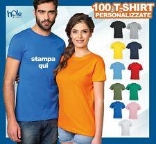 T-shirt Maglietta Magliette Personalizzata Personalizzate Manica Corta Uomo 100