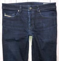 Mens DIESEL Buster Jeans W31 L30 Blue Regular Slim Tapered Wash 0607A_STRETCH