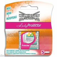 Wilkinson Sword Lady Protector 5 individual blades for Razor - 5 Pack