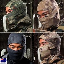 Tactical Camouflage Mask Balaclava Chiefs Rattlesnake Camo Fishing Hunting AUS !