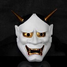 T02 Vintage Japanese Buddhist Evil Oni Noh Hannya Mask Halloween Horror Mask