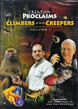 NEW Creation Proclaims Climbers and Creepers Volume 1 DVD Jobe Martin Breeding