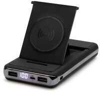 NEW Power Bank Wireless Charger 20000 mAh with Stand 2 USB