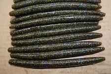 "5"" Stick Senko Style Tilapia Magic 50 count bag bulk Bass Plastic Worm"