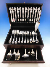 Spanish Baroque by Reed & Barton Sterling Silver Flatware Set Service 56 pieces