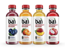 Bai Flavored Water Rainforest Variety Pack Antioxidant Infused Beverage 18oz