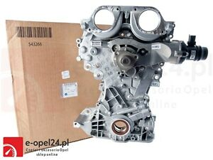VAUXHALL CORSA D& E 1.2,  1.4  COMPLETE TIMING CHAIN COVER. 25199425 OE PART