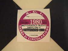 Imposta ITALIANO DISC 1980-FIAT 500 600 126 LANCIA BETA GIULIETTA ALFA GTV6 ABARTH