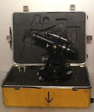Vintage Dietzgen 6100 Series Antique Transit Level w/ Carrying Case
