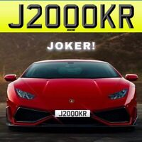 JOKER! {J200 OKR} *REDUCED* Private Number Plate Registration RARE CLEAR FUNNY